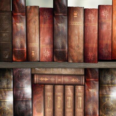 Фотообои Старые книги, библиотека