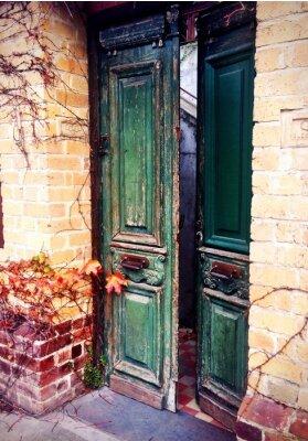 Фотообои Старый открыть дверь