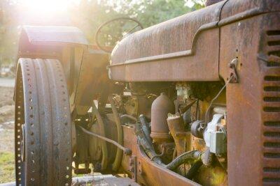 Фотообои Старый трактор сельское хозяйство