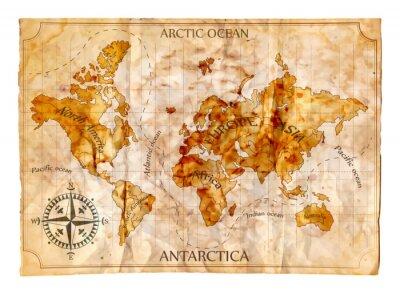 Фотообои Old map