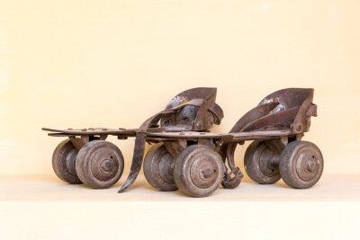 Фотообои Old pair of roller skate