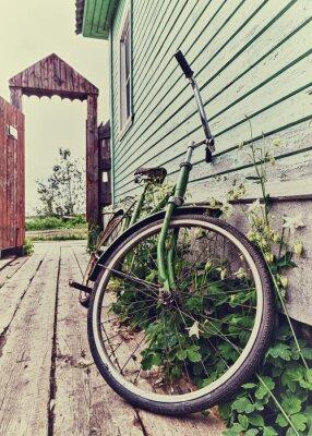 Фотообои Старый ретро велосипед.