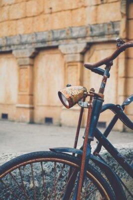 Фотообои Старый ржавый велосипед