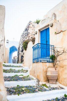 Фотообои Old street in Pyrgos village