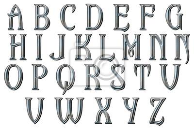 Фотообои Once upon a Dream alphabet collection