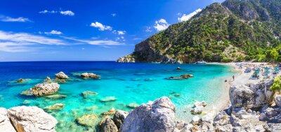 Фотообои один из самых красивых пляжей Греции - Apella, Карпатос