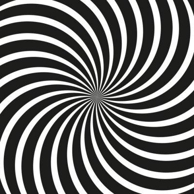 Фотообои Op Art Swirl спиральный фон