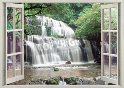 Фотообои Открыть окно просмотра для известных Purakaunui Falls