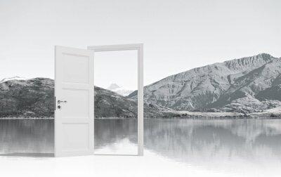 Фотообои Открыта дверь куда-то