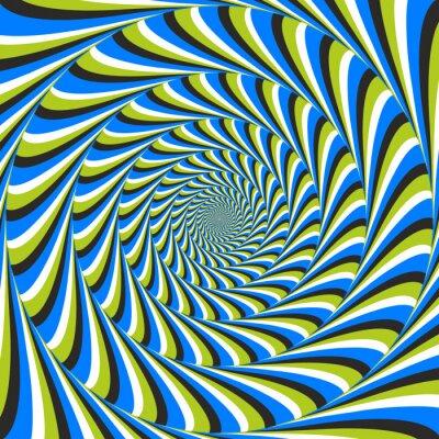 Фотообои оптическая иллюзия водоворот против часовой стрелки