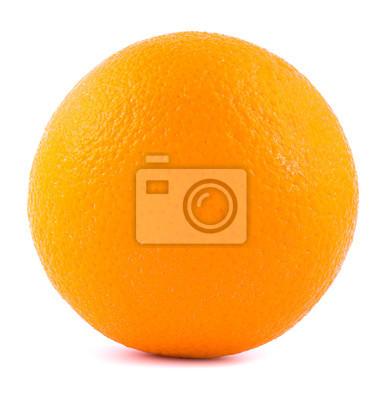 Оранжевый на белом фоне с тенью снизу