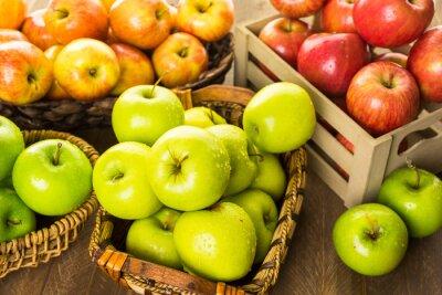 Фотообои Органические яблоки