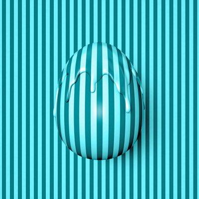 Фотообои Пасхальное яйцо Полосатый pt.2