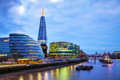 Фотообои Обзор Лондон с Shard London Bridge