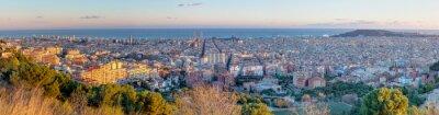 Фотообои Panorama of Barcelona