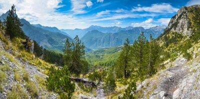 Фотообои Панорама гор на севере Албании