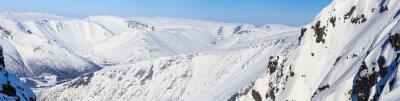 Фотообои Панорама северных гор