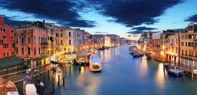 Фотообои Панорама Венеции от моста Риальто