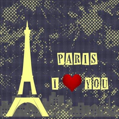 Фотообои Paris - a city of love and romanticism