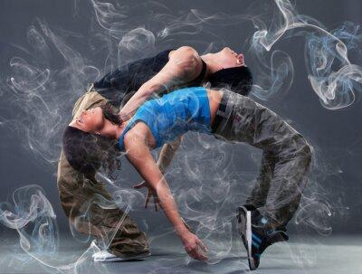 Фотообои Страсть танцевальная пара.