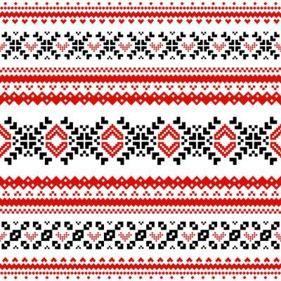 Фотообои Шаблон с линиями скандинавской сердца