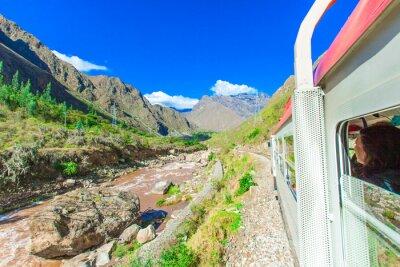 Фотообои Перу Рейл из Куско в Мачу-Пикчу Перу