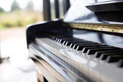 Фотообои пианино музыкальный инструмент это клавиатура и популярный в детский.