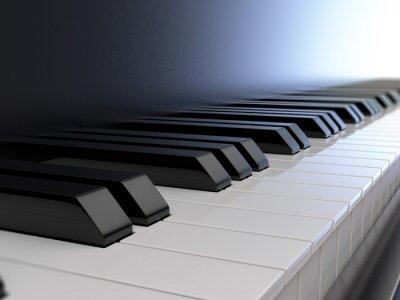 Фотообои клавиатура пианино
