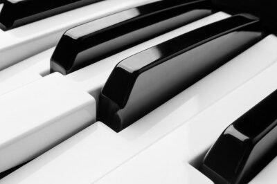 Фотообои Ключи фортепиано