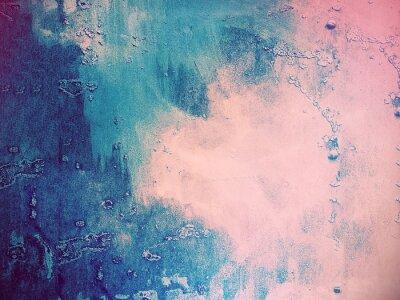 Фотообои Розовый и синий абстрактный фон