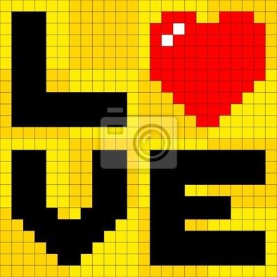 8bit love heart arrow vectors Vector  Free Download