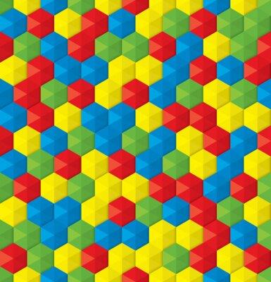 Фотообои пластиковая мозаика бесшовного фона