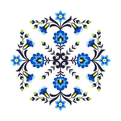 Фотообои Польские народные цветы