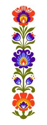 Фотообои Польский народные цветы Papercut