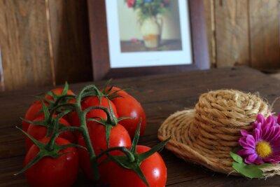 Фотообои Pomodoro Rosso Grappolo varietà Piccadilly