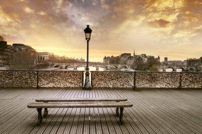 Фотообои Мост Искусств Париж