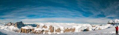 Фотообои Пордой итальянский Доломиты панорама пейзаж
