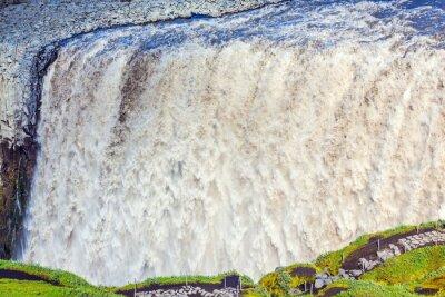 Фотообои Мощный водопад Dettifoss