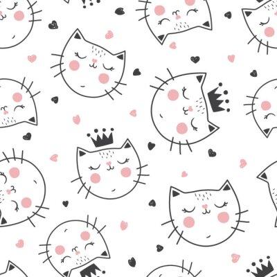 Фотообои модель королевы-кошки