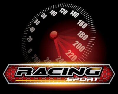 Фотообои RACING SPORT CONCEPT для дизайн логотипа VECTOR