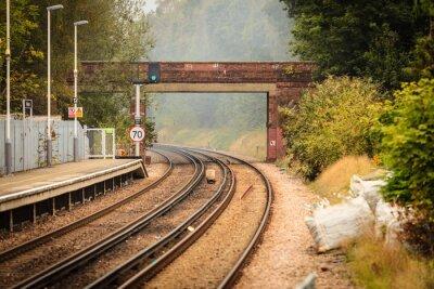 Фотообои Железнодорожные дороги железнодорожные пути.
