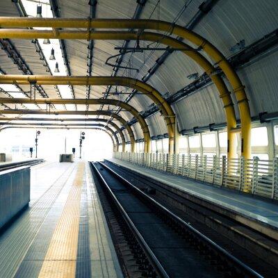 Фотообои Железнодорожная станция