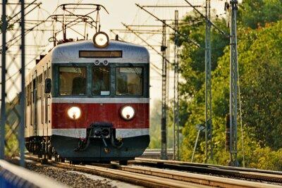 Фотообои железнодорожный транспорт