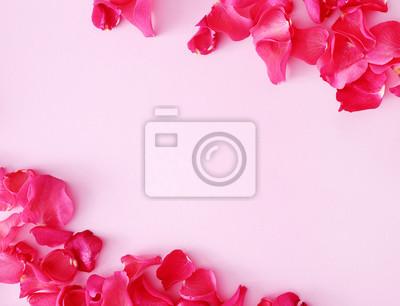 Фотообои Красные лепестки