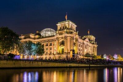 Фотообои Рейхстаг в Берлине я Абенд