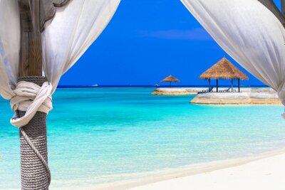 Фотообои расслабляющий отдых в тропическом раю