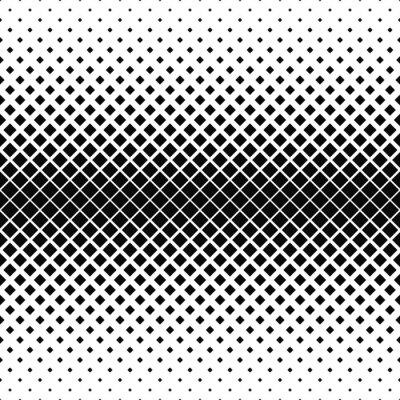 Фотообои Повторяя монохромный квадратный узор