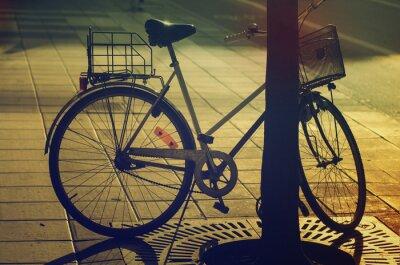 Фотообои Ретро велосипед на улице