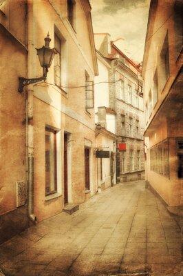 Фотообои Ретро стиль образ старого европейских улице