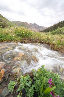 Фотообои реки и горы
